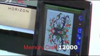 видео Janome Horizon Memory Craft 12000