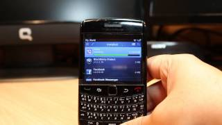 Viber Messenger install to Blackberry Bold 9780