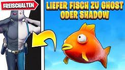 Liefere Fisch an Shadow oder Ghost   Fortnite Muskelkater Deutsch