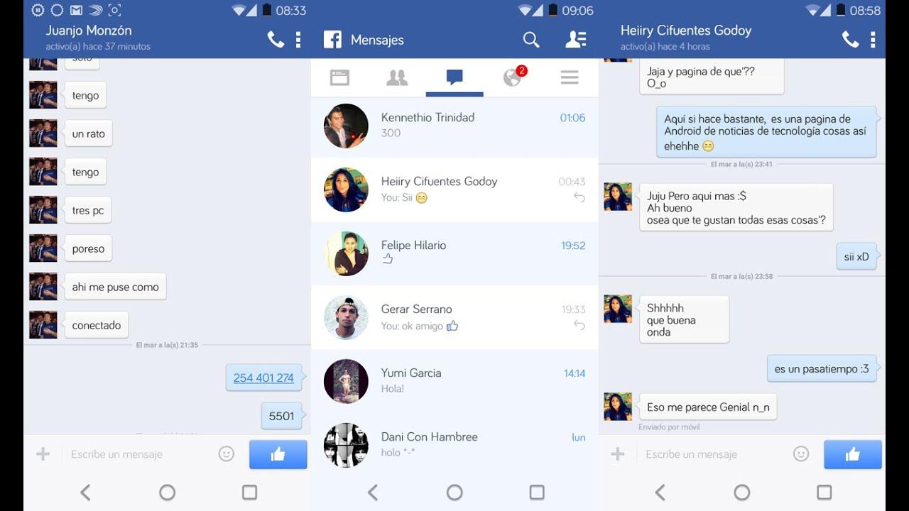 Paginas para chatear en facebook