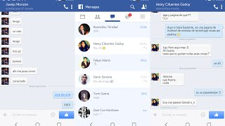 FB Messages | Elimina el Facebook Messenger | Utiliza solo Facebook para chatear