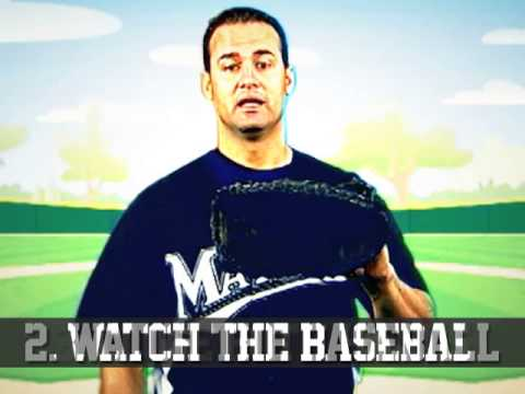 How To Catch a Baseball from Gaby Sanchez, Miami Marlins / eFit2Play