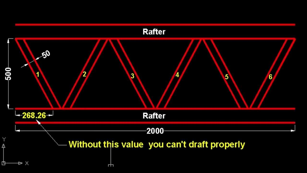 Truss Angle Solver Youtube