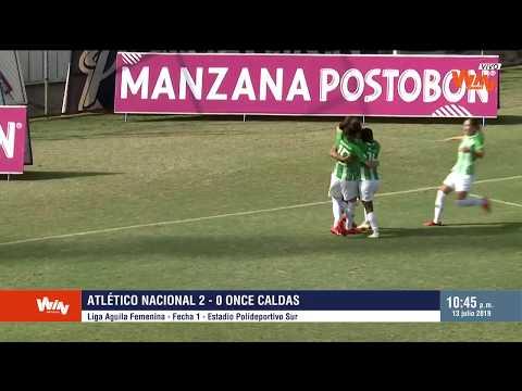 Nacional vs. Once Caldas (2-0) | Liga Femenina 2019 | Fecha 1
