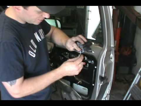 GMC  Chevy Door lock actuator & window fix  YouTube