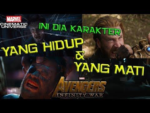 Karakter Yang Akan MATI Dan Tetap HIDUP Di Avengers Infinity War UPDATED | Marvel Theory Indonesia