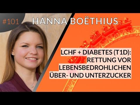 Rettung vor lebensbedrohlichem Über- und Unterzucker: LCHF bei T1 Diabetes - Hanna Boëthius | #101