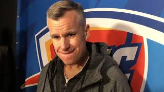 OKC Thunder - Billy Donovan vs Nuggets (Game 25 of 82)