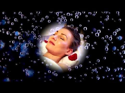 (3D binaural sound) Asmr your head in mineral water