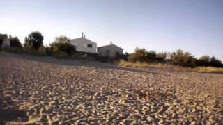 Sur la plage de frontignan