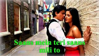 Saans Mein Teri -Jab Tak Hai Jaan- (HD) - Lyricz