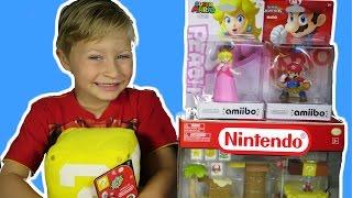Super Mario Bros Nintendo Toy Set + Super Smash Bros Princess Peach & Microland Layer Cake