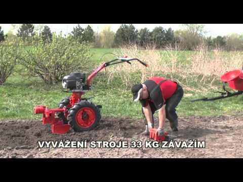 Vari Honda GCV 190+ DSK 317 + BZN + NM 1-001 + 2x SV1, kultivace půdy, Elektro Dvořák