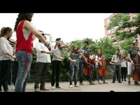 European Anthem. Europe Day in Albania 2013