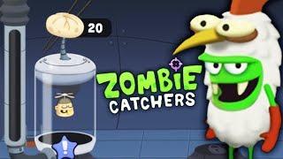- ОХОТА на ЗОМБИ ПЕЛЬМЕШКИ из ВОРИШКИ Детский летсплей по мультяшной игре Zombie Catchers