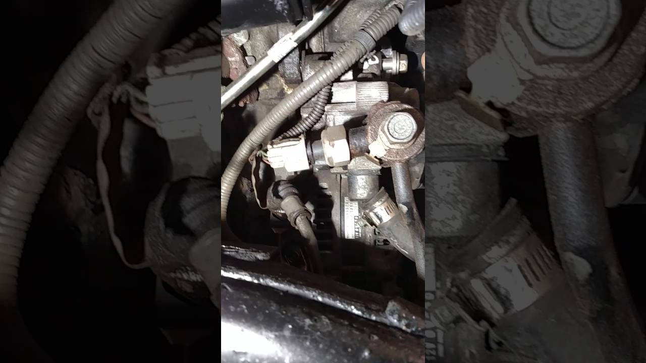 toyota tundra alternator and power steering pump removal. Black Bedroom Furniture Sets. Home Design Ideas