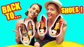 BACK TO SCHOOL GLOW UP - MUPPET SHOW et DISNEY FUNNY SHOES 2019 - DEMO JOUETS