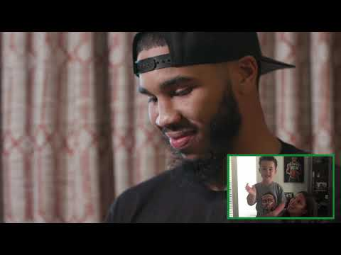 Celtics Players Are Surprised With Family Messages Ahead Of Game 7   This Is Why We Play