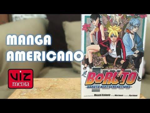 Boruto Nauruto next generations Manga VIZ media