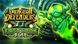 Dungeon Defenders II Gameplay - First Look (2018)