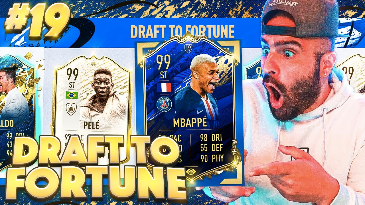 WOW MOST OVERPOWER STRIKERS IN FUT DRAFT! FIFA 20 Ultimate Team Draft Top Fortune