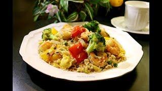 Особенный Рассыпчатый рис с овощами. Смели со стола за секунды