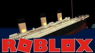 I Would Not Do Well On The Titanic - Roblox Titanic Simulator