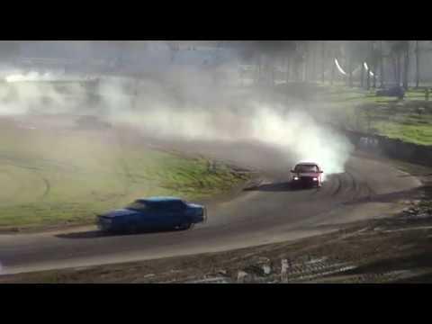 Mantorp Park - Halloween on track drifting
