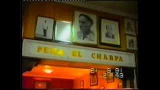 Interior de la Peña El Charpa (la verdadera)