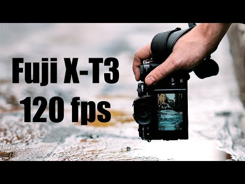FujiFilm X-T3 Slow-motion: This Is 120 Fps [18-55mm OIS Lens]