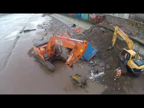 Forterra Dawlish Flood Defence