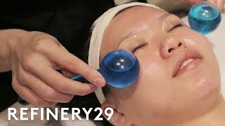 I Tried A $1,000 Facial | Beauty With Mi | Refinery29