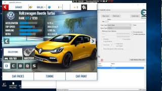 Asphallt 8 Hacking Tutorial | Try All Cars Hack