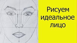 Коррекция лица. Урок 1. Рисуем идеальное лицо