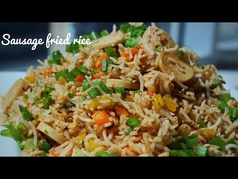 How to make good fried rice recipe with egg and sausage casserole