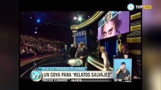 """Visión 7 - Premio Goya para """"Relatos Salvajes"""""""