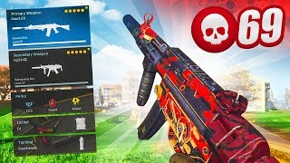 The BEST MP5 / GRAU 5.56 LOADOUT in WARZONE (25 Solo Kills)