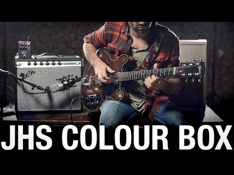 JHS Pedals Colour Box Guitar & Bass Demo
