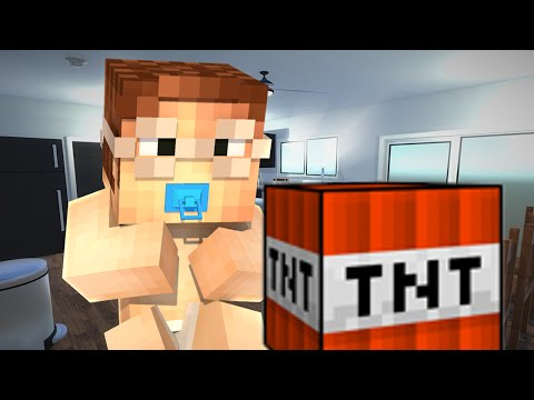 BABIES BLOW UP HOUSE!! - Minecraft WHO'S YOUR DADDY?! (Minecraft Roleplay) #3