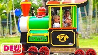 Vlad und Nikita Kids Lustige Spielzeit im Safari Park