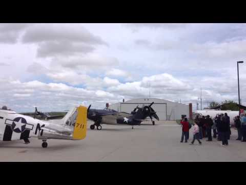 WWII Planes in Chadron Nebraska