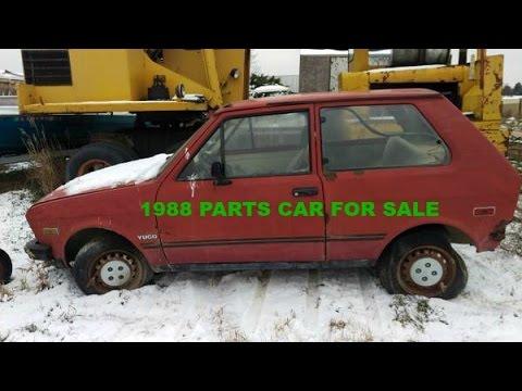 1988 Yugo For Sale Parts Car Craigslist Sold Youtube