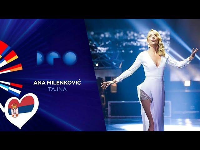 Ana Milenković - Tajna / Beovizija 2020