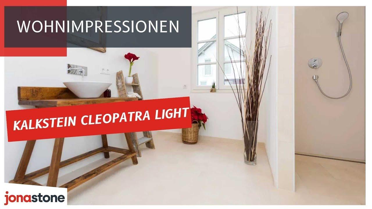 Design Fußboden Für Küche ~ Kalkstein cleopatra light klassisch moderner fußboden in bad