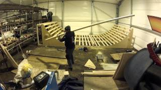 Building A Skateboard Ramp In 4 Minutes