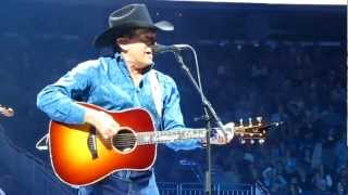"George Strait, Orlando Florida Concert, performing ""Blue Clear Sky"""
