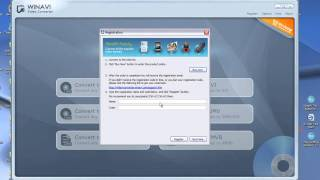 Como registrar o WinAvi Video Converter 11.