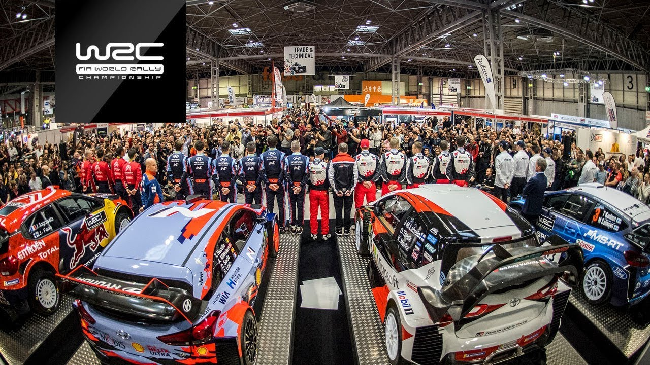 FIA World Rally Championship: Season launch 2019