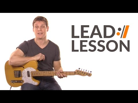 Cornerstone - Hillsong Live // Lead Guitar Lesson
