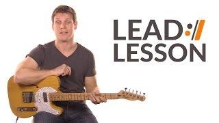 Cornerstone - Hillsong Live // Lead Guitar Lesson